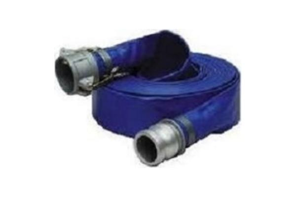 Blue PVC Water Discharge Hose